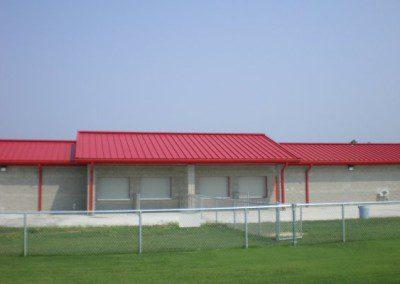 Kelleytown Stadium Roof – Hartsville, SC